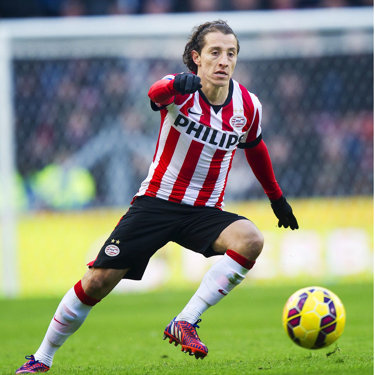 Andres Guardado has become the fulcrum of the PSV Eindhoven attack.