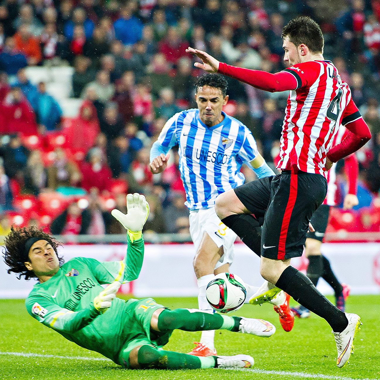 With Malaga's cup campaign concluded, minutes will be hard to come by for Guillermo Ochoa.