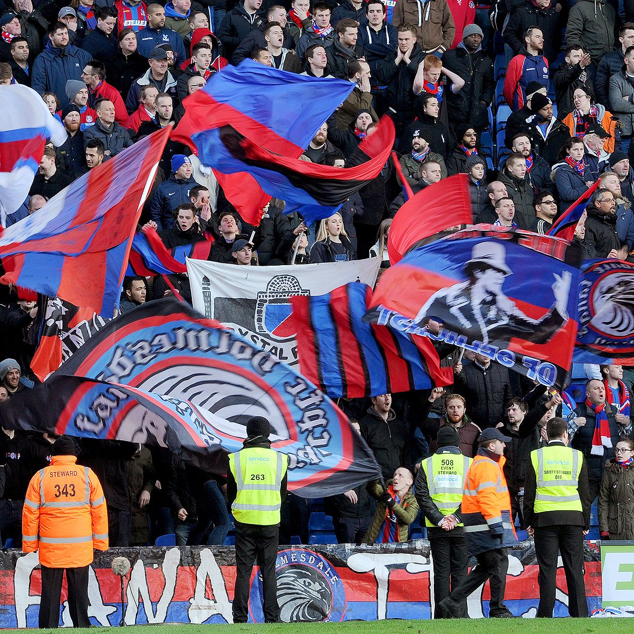 It remains to be seen how many Palace fans will be at West Ham for this weekend's fixture.