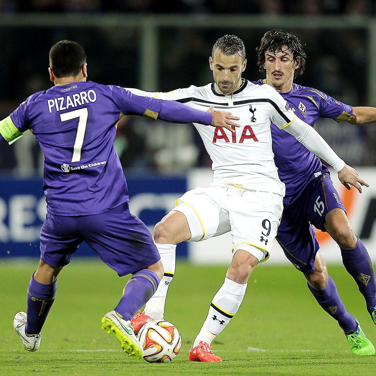 Roberto Soldado endured yet another nightmare miss in the first half versus Fiorentina.