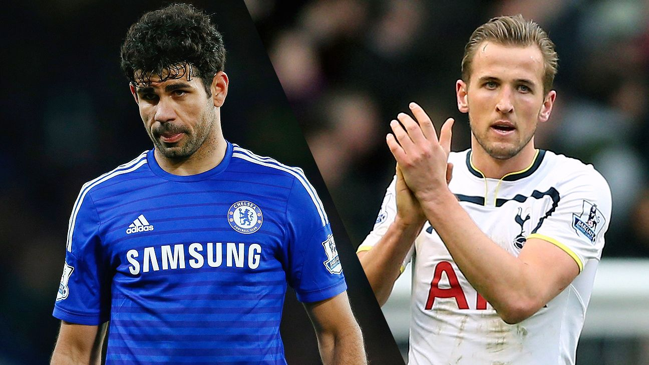 Eden Hazard, Diego Costa, Harry Kane among PFA Player of Year nominees