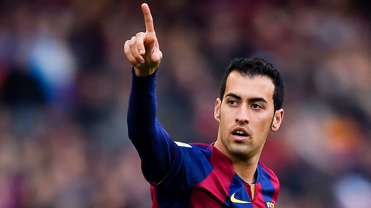 Barcelona's Sergio Busquets holds the key to future midfield