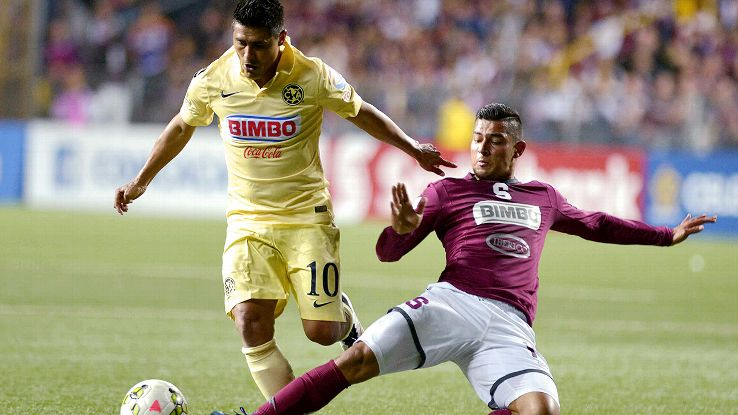 Osvaldo Martinez and Club America are one step closer to their sixth CONCACAF championship following Wednesday's 3-0 win at Saprissa.