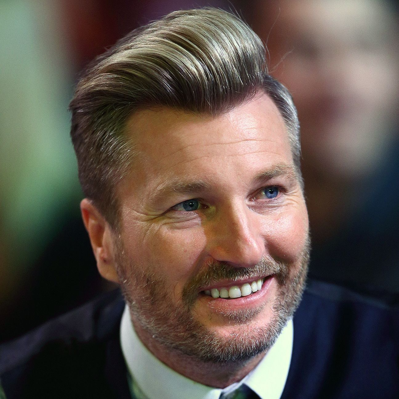 Former player Robbie Savage currently works as a football pundit.