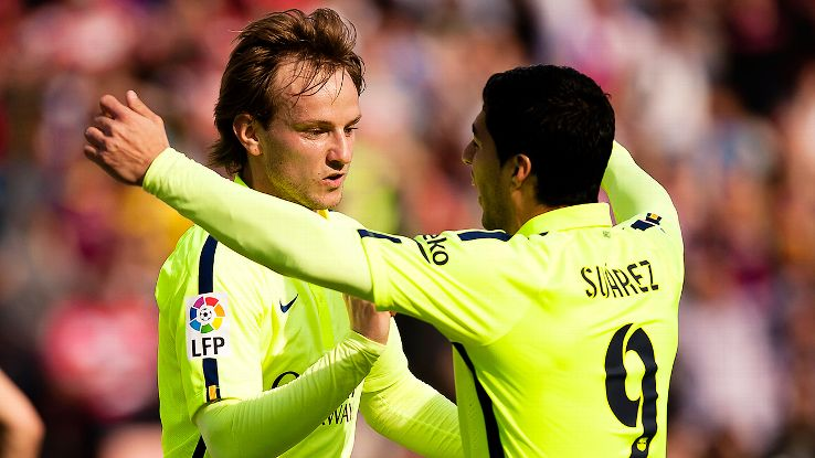 After a trophy-less 2013-14 at Barcelona, summer arrivals Ivan Rakitic and Luis Suarez have helped ignite a new winning spirit at the club.