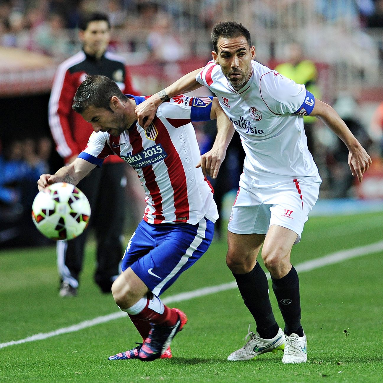 After a poor performance midweek in Germany, Gabi's subpar form carried into La Liga play.