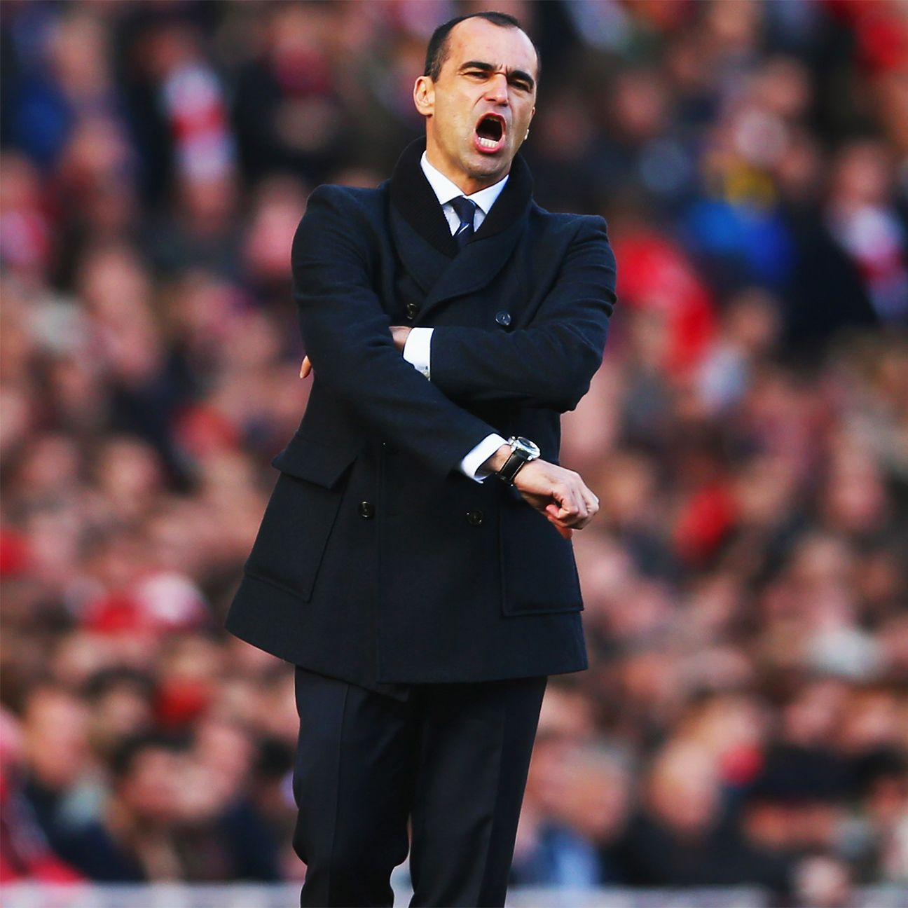The struggles continued for Roberto Martinez's Everton in their 2-0 defeat at Arsenal.