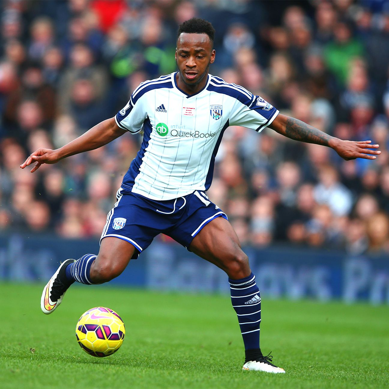 Saido Berahino's 11 Premier League goals have proved vital for West Brom this season.
