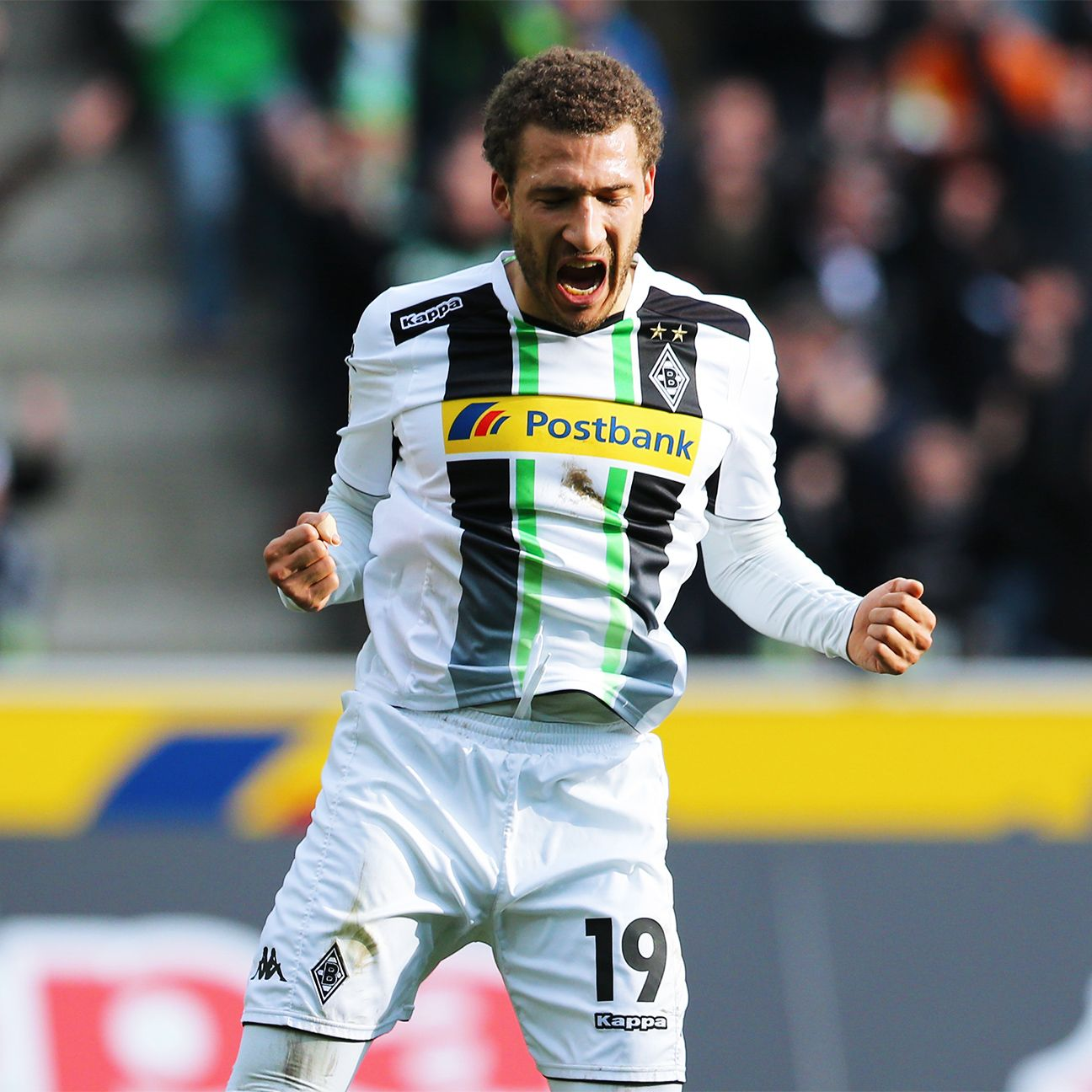 Fabian Johnson bounced back from his midweek struggles to register a goal on Sunday for Borussia Monchengladbach.