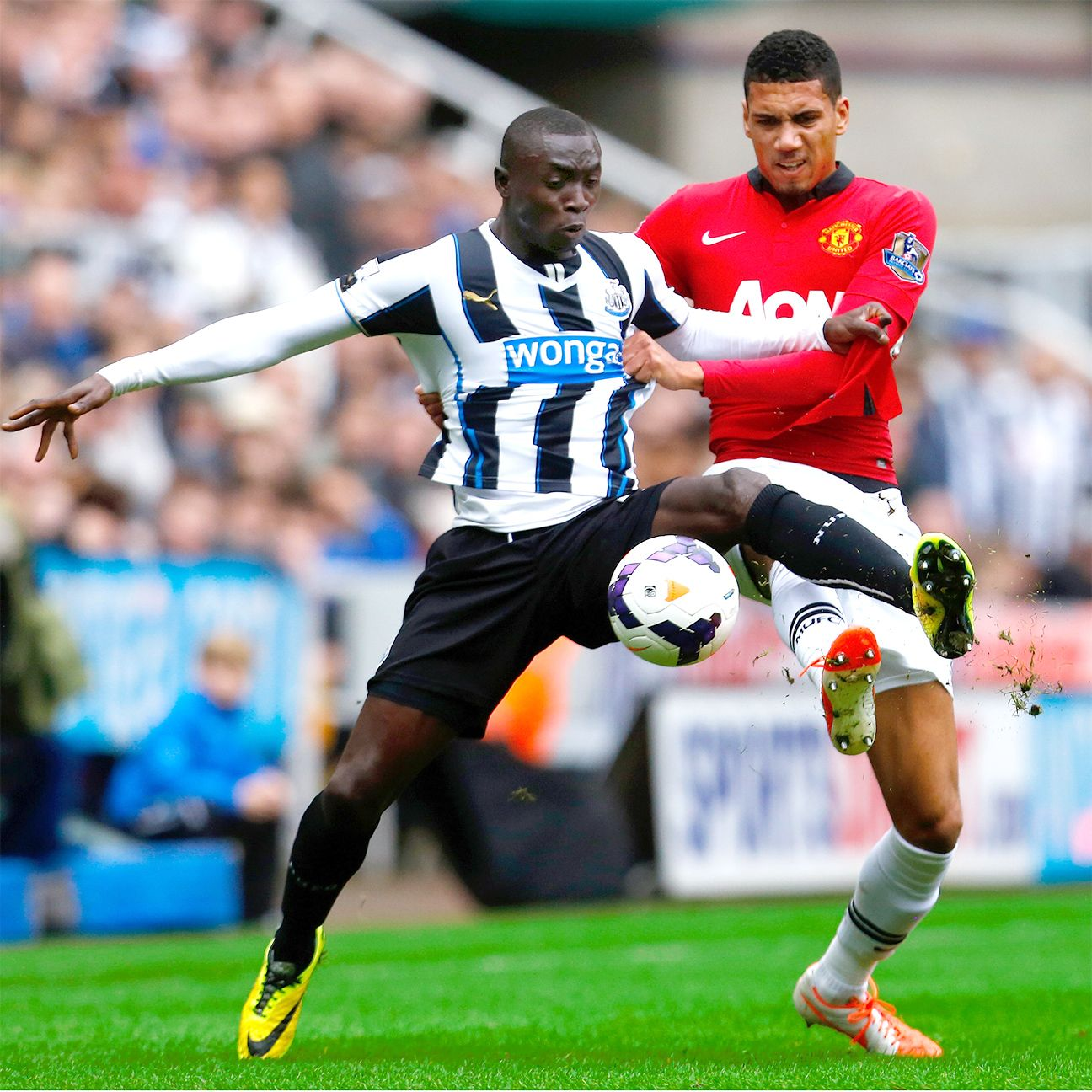 With no chance to win a trophy this season and the team situated in the middle of the table, matches against the Prem's top dogs like Manchester United take on added significance for Newcastle supporters.