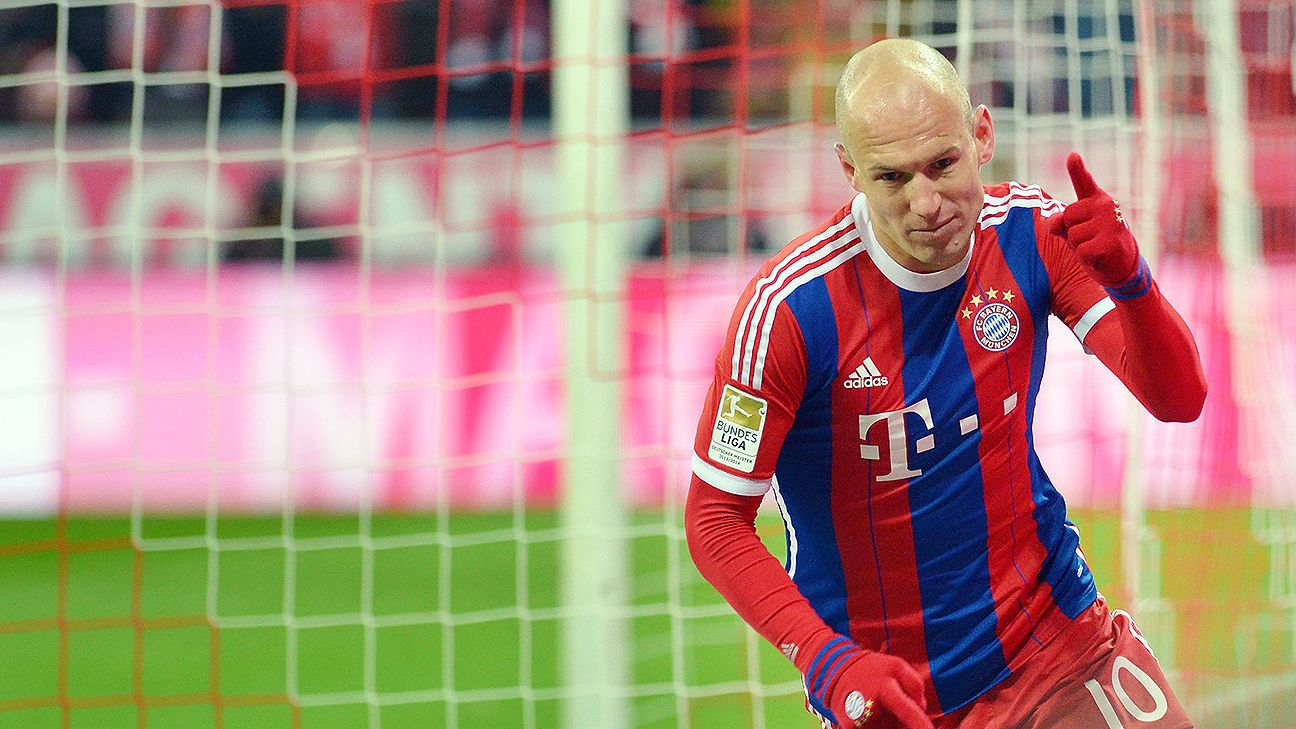 Bayern Munich's Arjen Robben could break Bundesliga record vs. Hannover