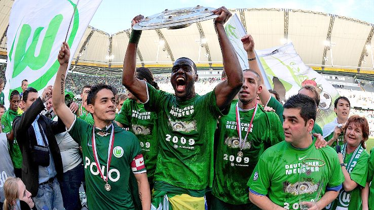 VfL Wolfsburg, one of two Bundesliga clubs wholly owned by a company, won their sole league title in 2009.
