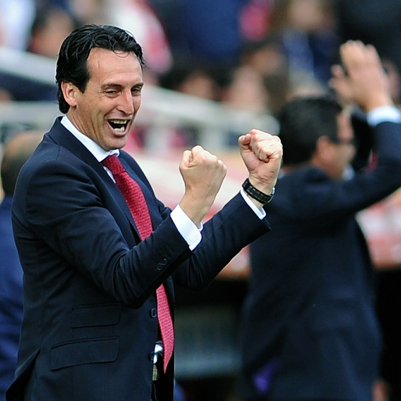 Unai Emery has Sevilla on the verge of winning a second straight Europa League title.