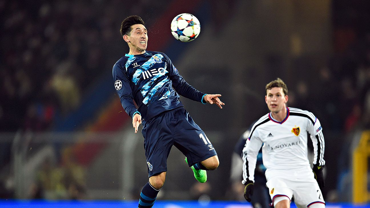 Hector Herrera has enjoyed a stellar season in midfield at Porto.