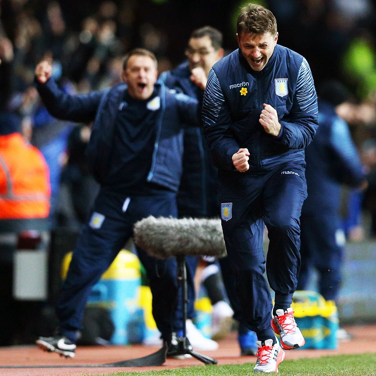 Aston Villa fans will be hoping that the fist-pumping from manager Tim Sherwood continues this weekend versus Sunderland.