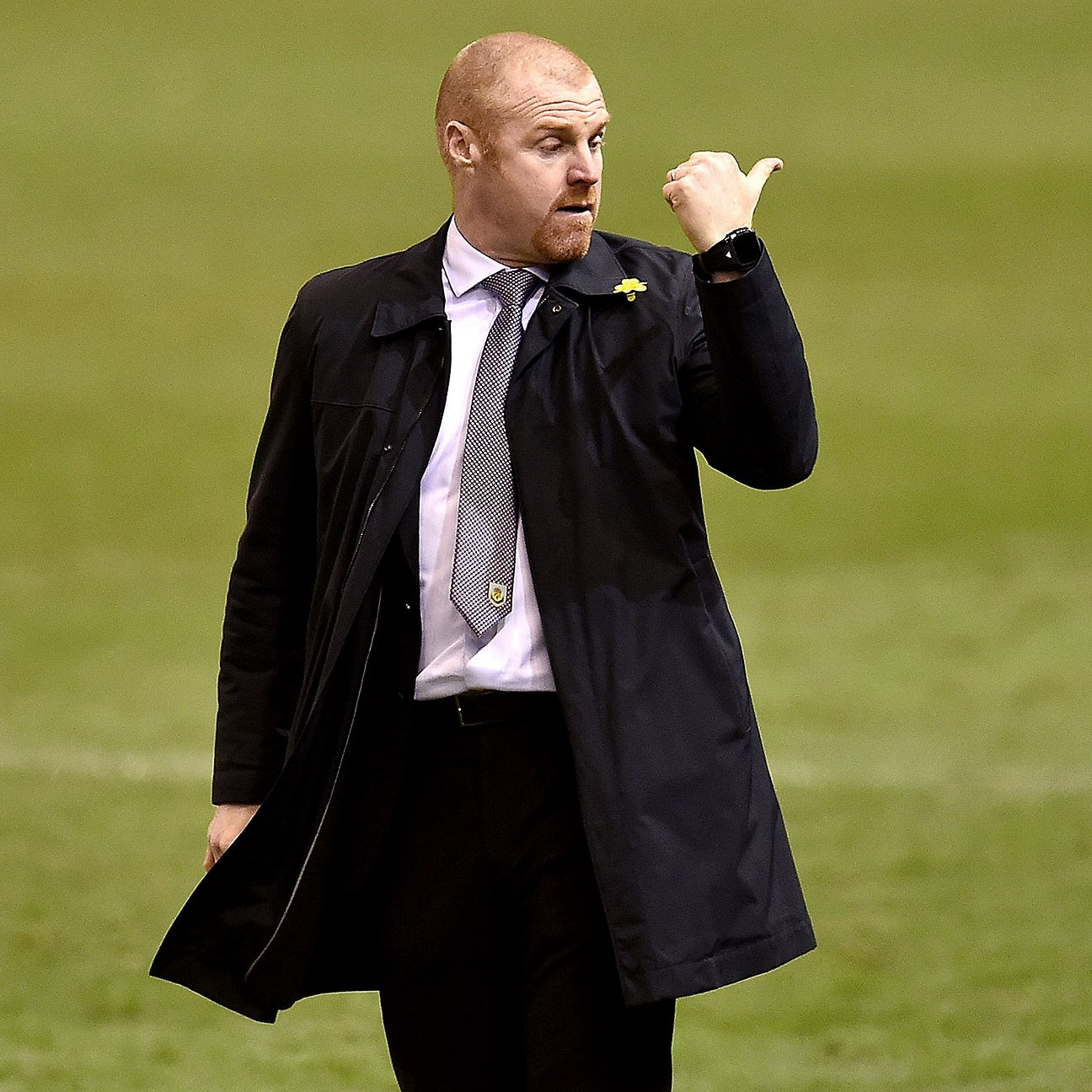 Even if Burnley do suffer the drop, manager Sean Dyche should not have to expect to hitch a ride out of town.