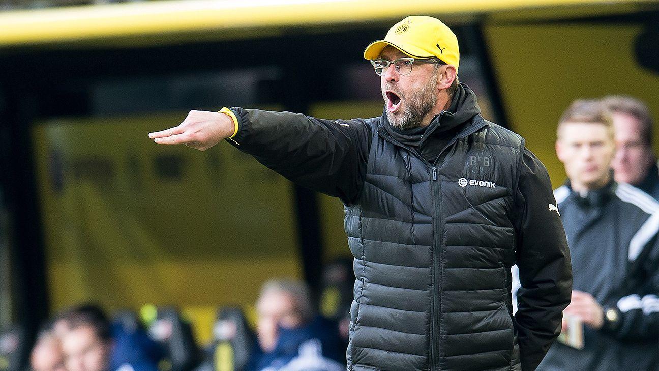 Jurgen Klopp's Dortmund side have a habit of departing Hamburg with little to show for it.