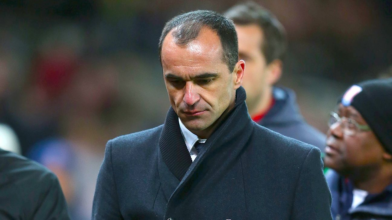 Roberto Martinez's sophomore season at Everton has taken a turn for the worse in 2015.