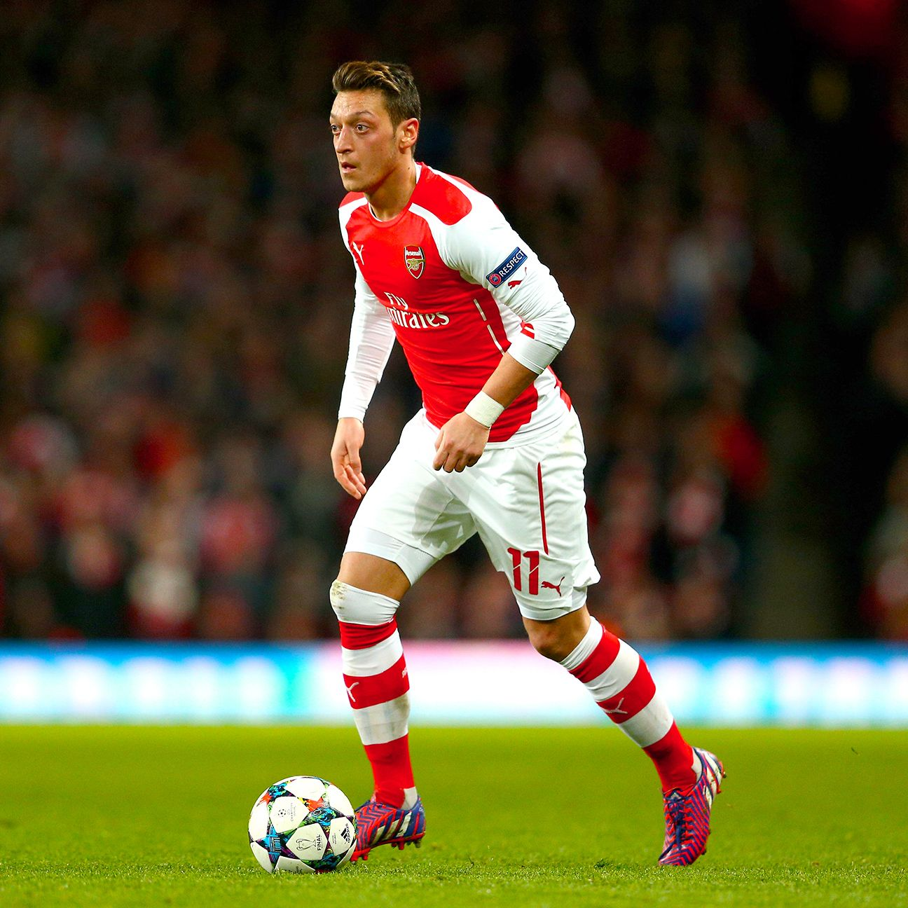 Arsenal will need Mesut Ozil at his best in their two Champions League ties versus Bayern Munich.