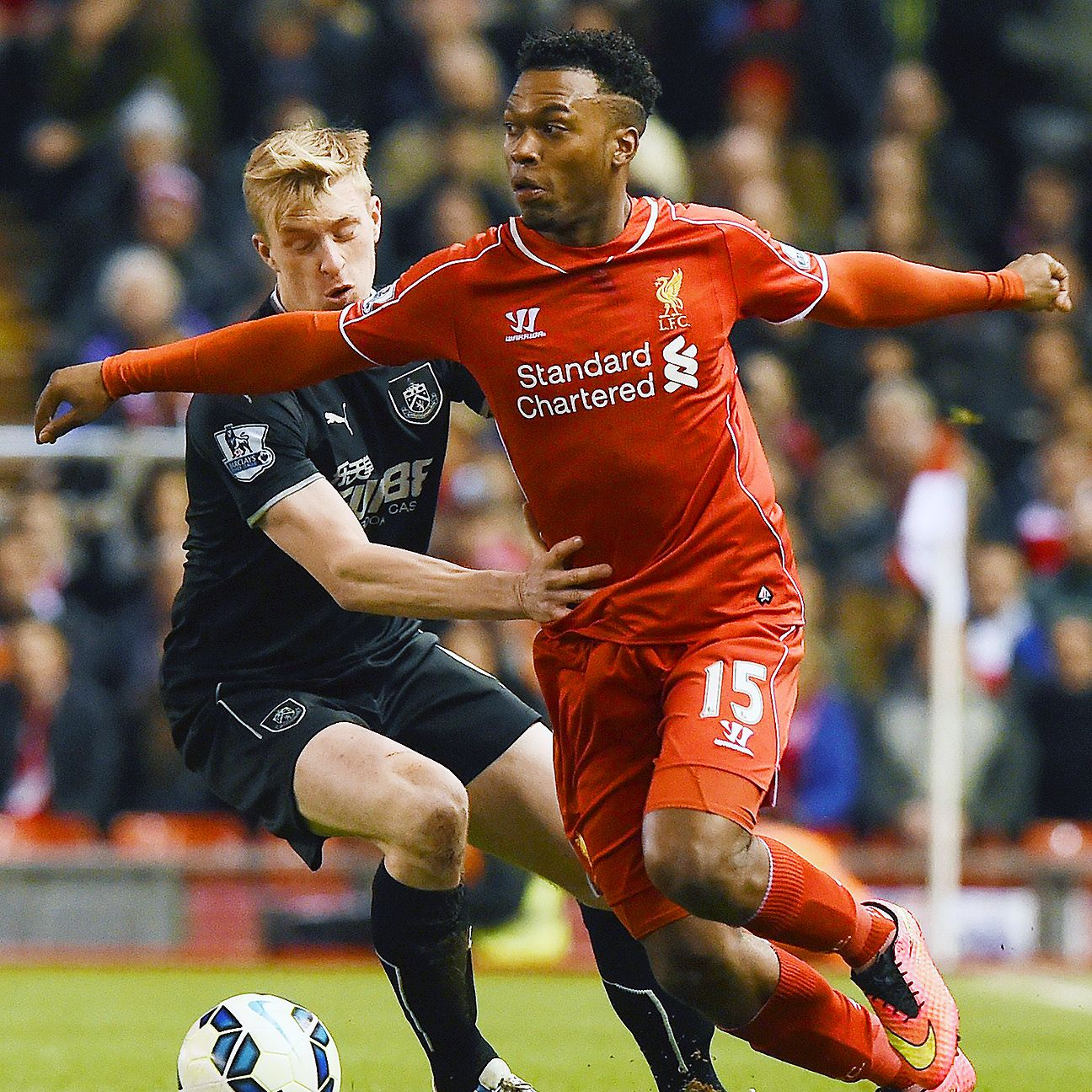 Ben Mee and Burnley seemed a step behind Liverpool all evening on Wednesday.