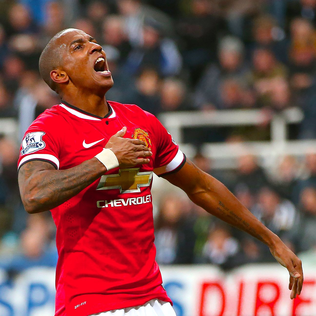 Unlike some of Manchester United's big-money signings, the unheralded Ashley Young has produced under the tutelage of Louis van Gaal and has helped United stay in the hunt for a Champions League spot.