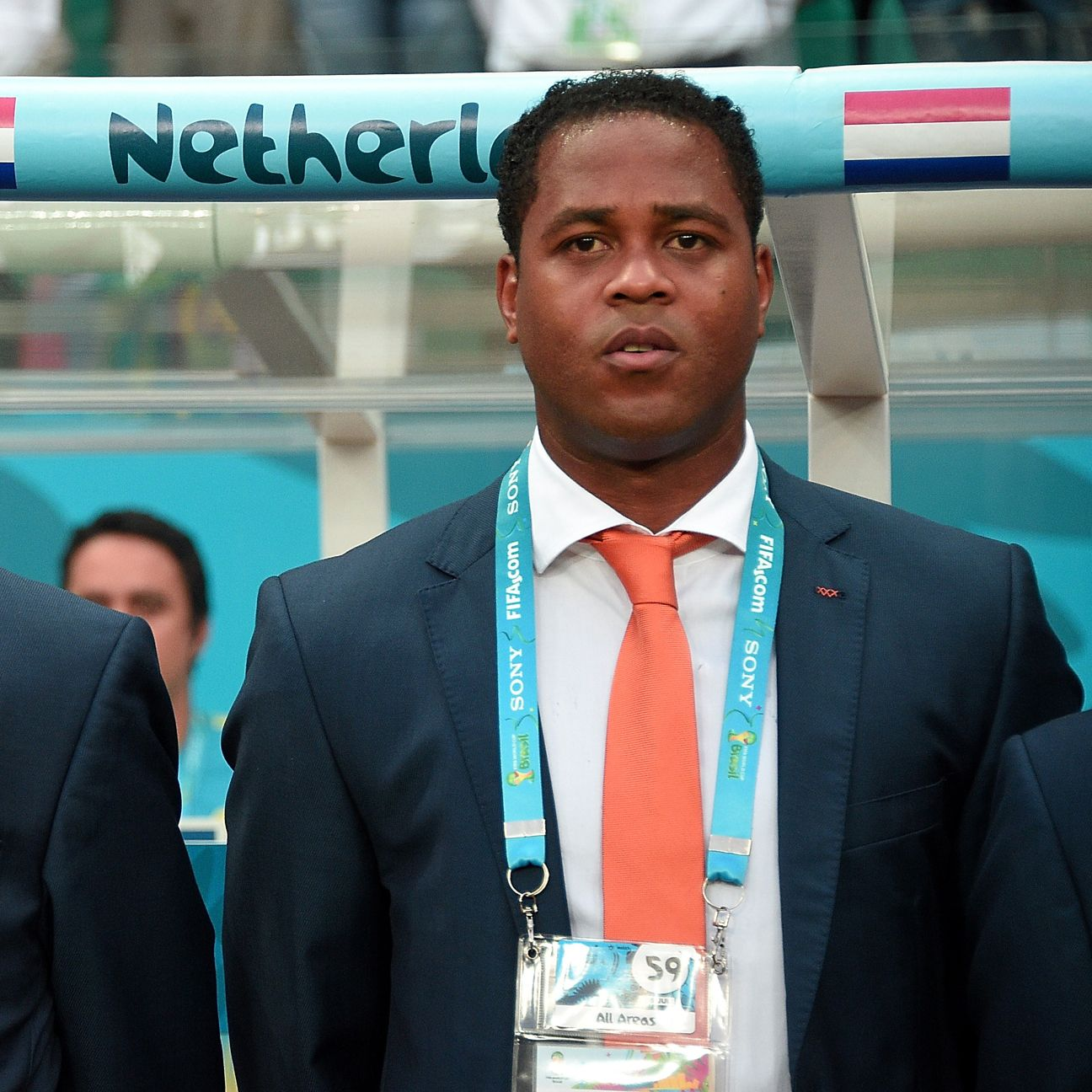 After playing for Louis van Gaal at Ajax and Barcelona, Patrick Kluivert later served as an assistant on Van Gaal's Netherlands staff at the 2014 World Cup.