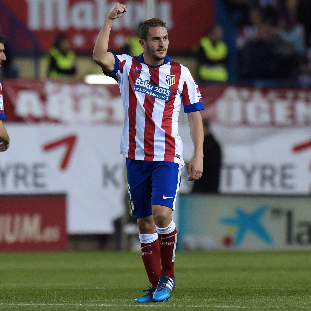 Koke brought solidity to the Atletico Madrid midfield in Sunday's 1-1 draw with Valencia.