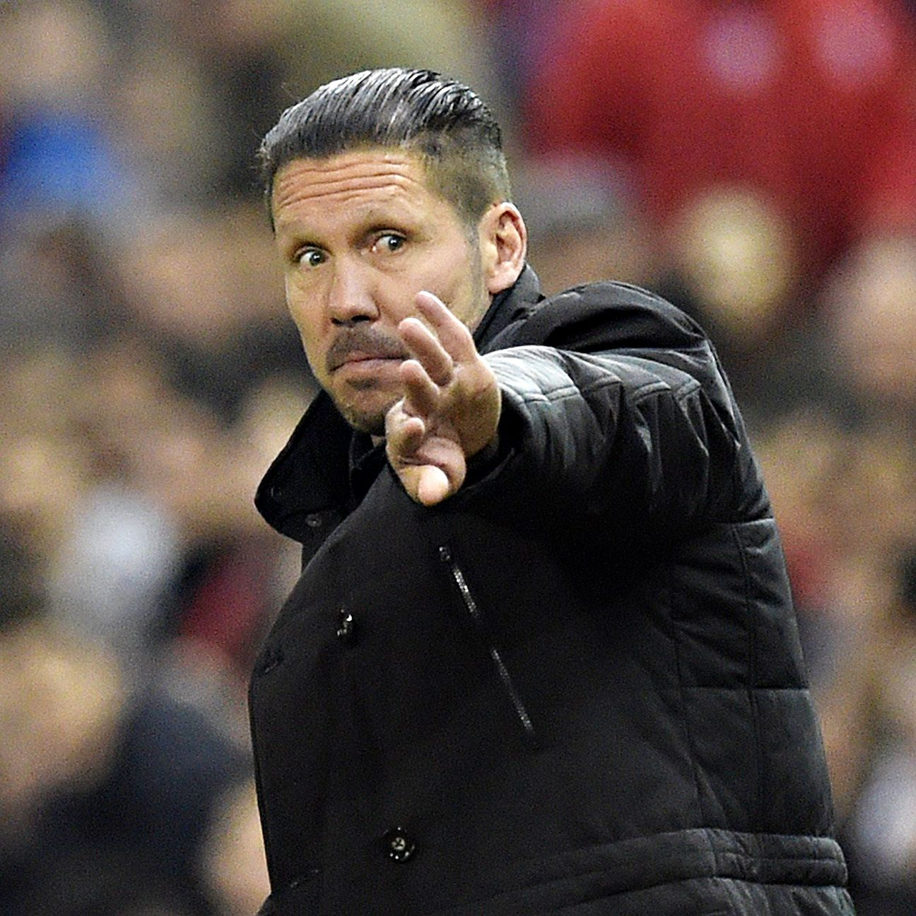 It remains to be seen if Atletico boss Diego Simeone stays with a 4-3-3 formation against Eibar, or reverts back to a 4-4-2.