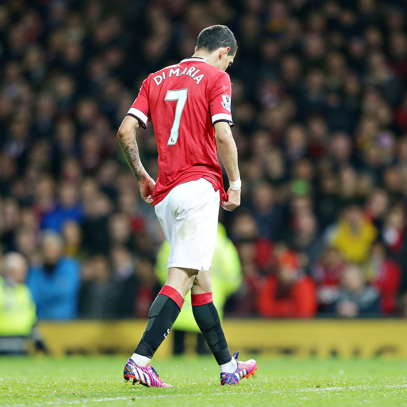 Angel di Maria made just 20 starts last season in the Premier League.