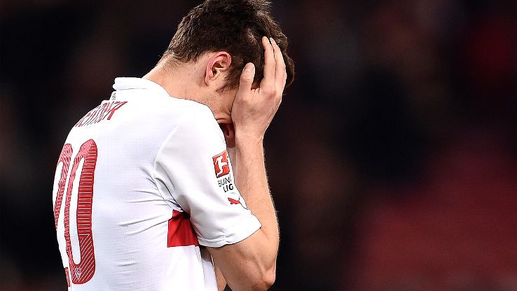 With each passing week VfB Stuttgart's hopes of Bundesliga survival continue to fade.