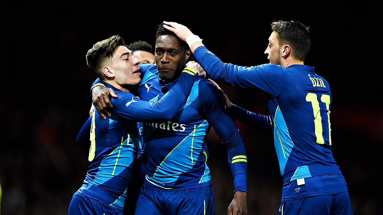 Arsenal, Danny Welbeck stun Man United at Old Trafford in FA Cup