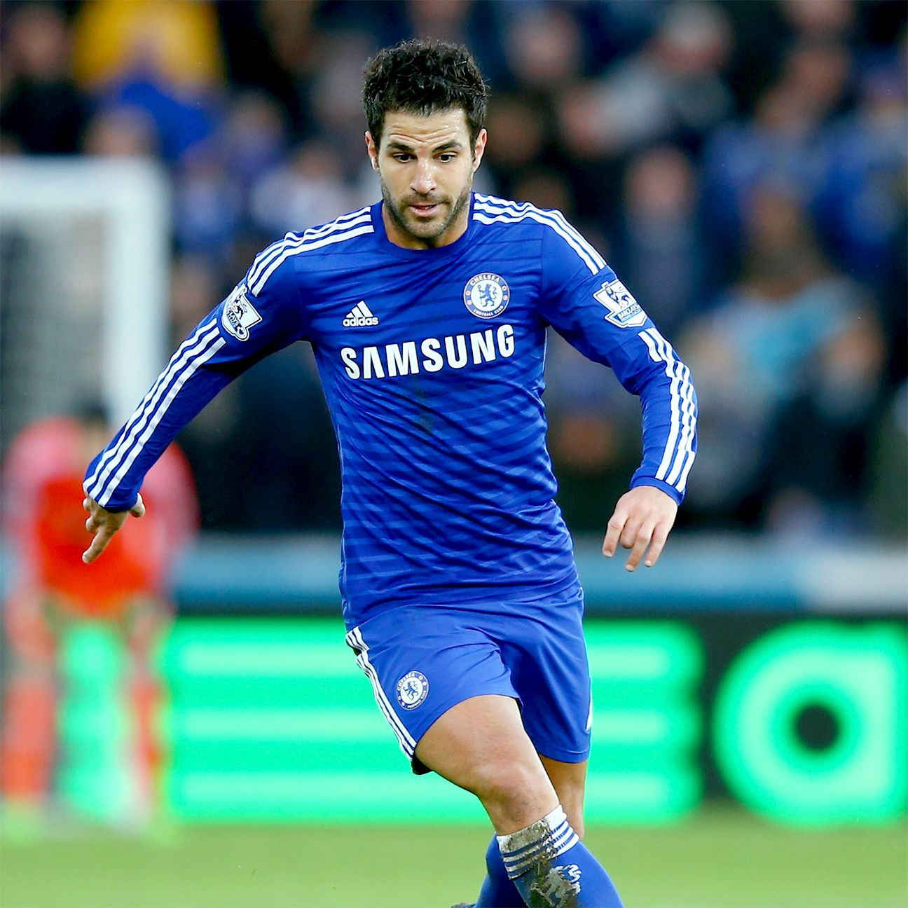 Cesc Fabregas led the Premier League in assists, completed passes and completed through balls.