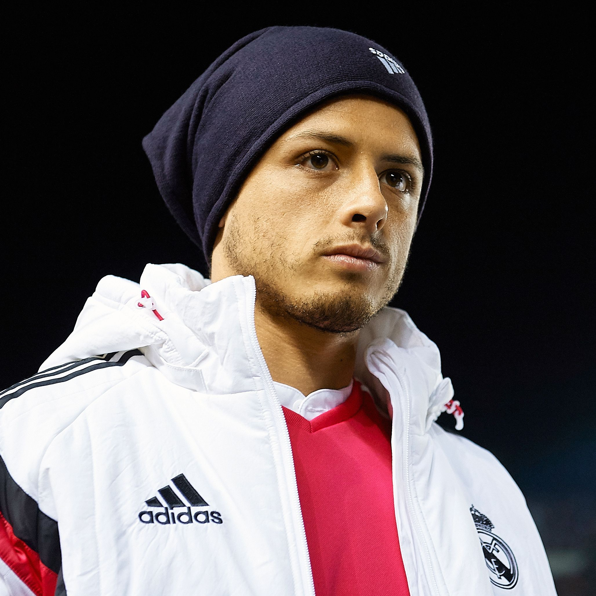 Despite little playing time at Real Madrid, Javier Hernandez is regularly called up to the Mexican national team.