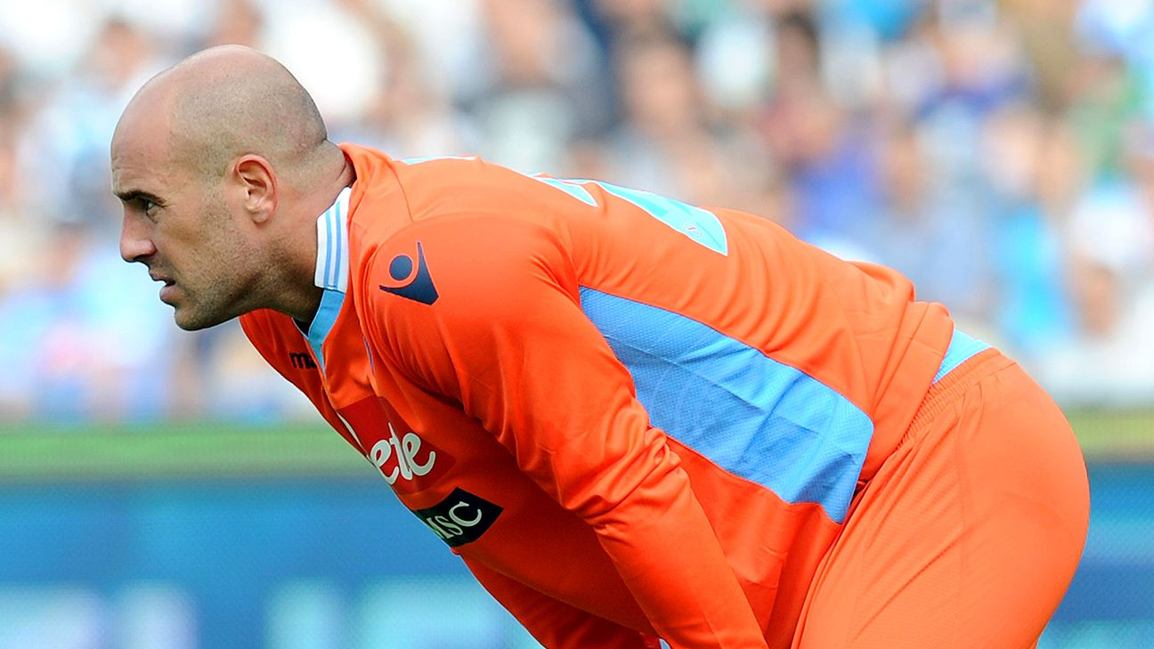 Pepe Reina delighted to be back at Napoli after Bayern Munich spell
