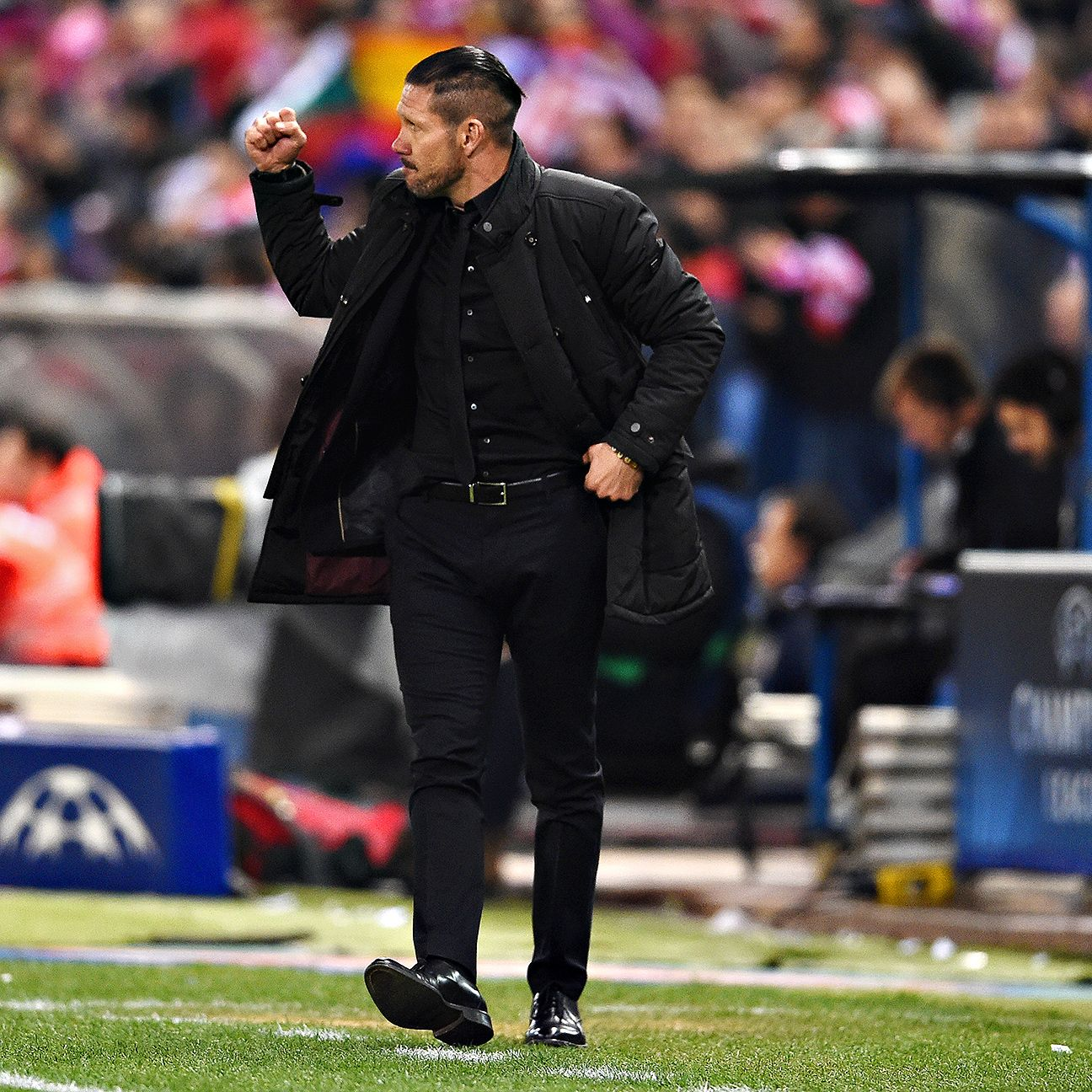 Diego Simeone's Atletico Madrid will be out to make sure Barcelona's La Liga title celebrations won't start on the Vicente Calderon pitch.