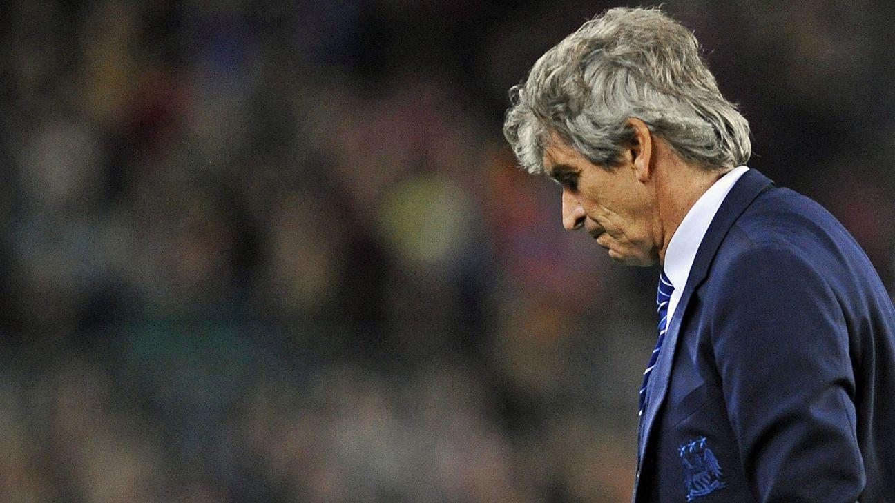 Manuel Pellegrini defends Manchester City's season, says it isn't a 'disaster'