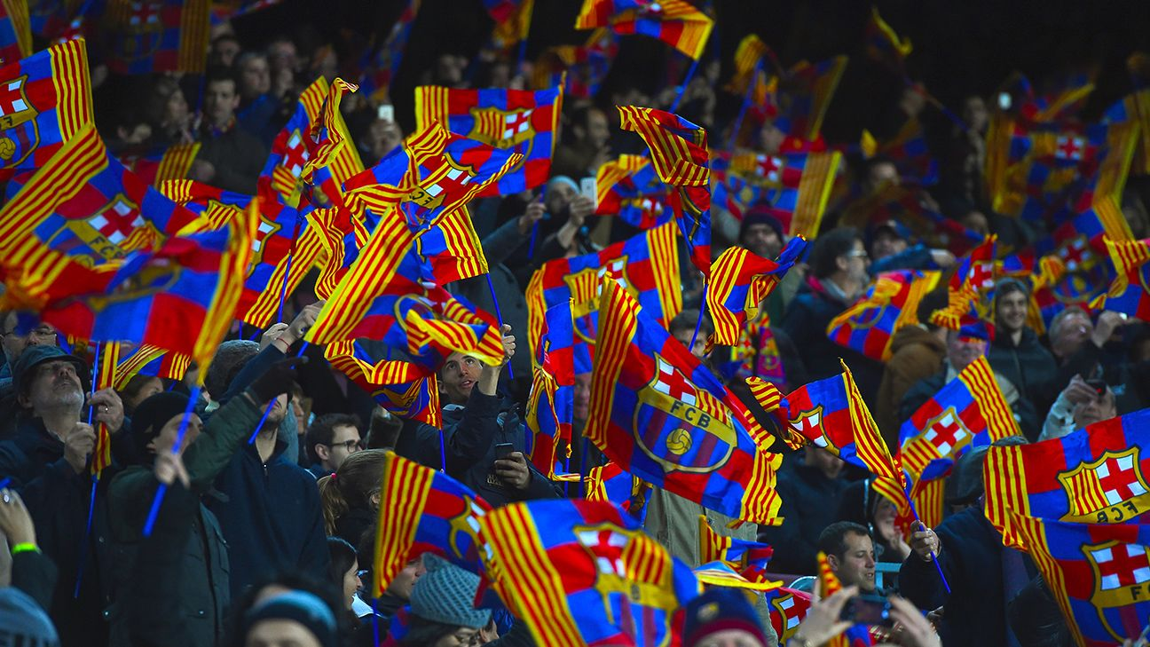 Barcelona hit out at supporters for offensive banner