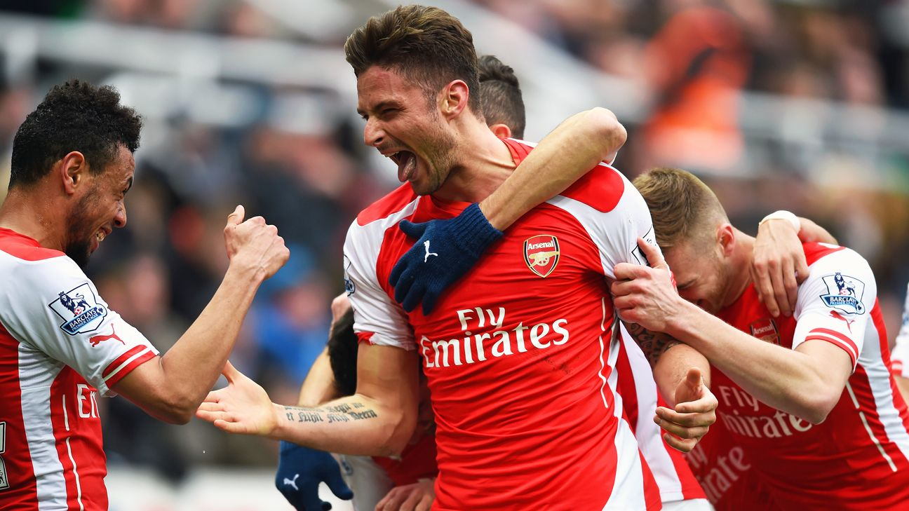 Arsenal forward Olivier Giroud's hot streak puts him at the top of the list for recommended fantasy captains.