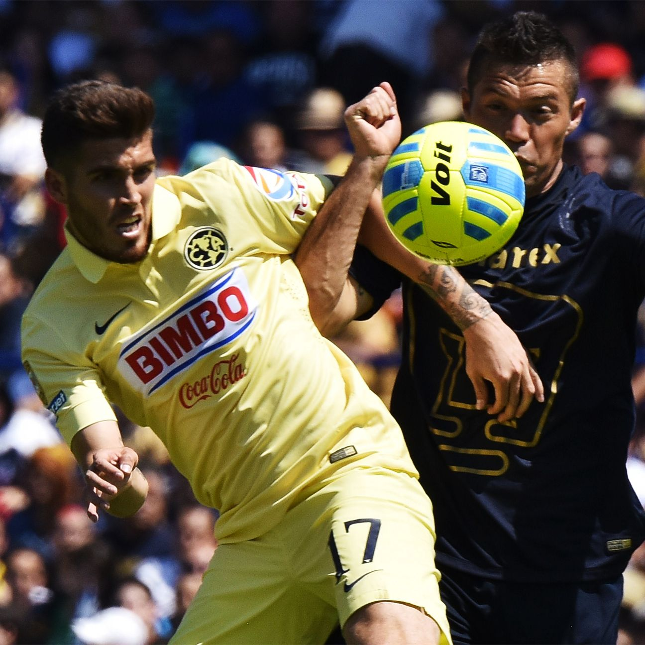 Mexico City rivals Club America and Pumas renew acquaintances on Saturday evening at the Estadio Azteca.