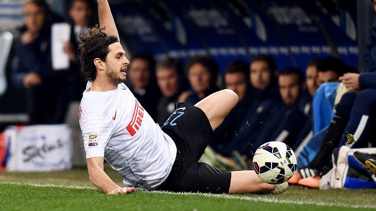 Despite their Europa League disappointment, Andrea Ranocchia and Inter Milan managed to put in a spirited performance on Sunday in Genoa versus Sampdoria.