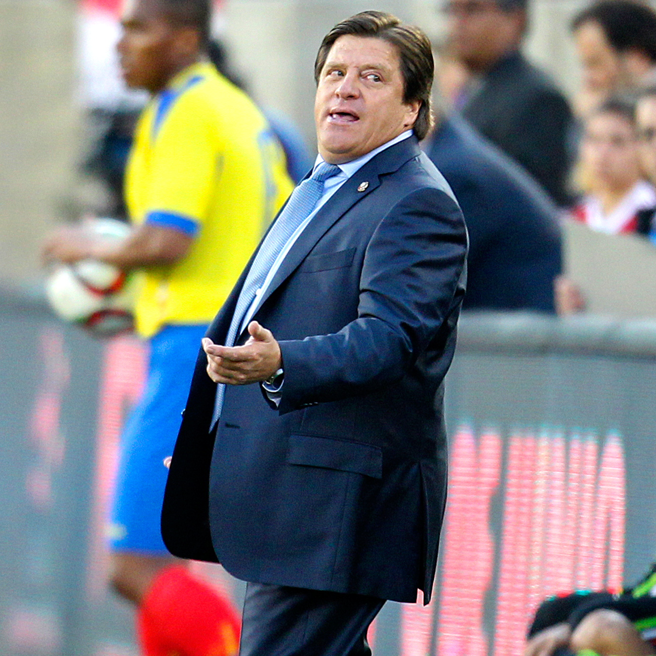 Mexico head coach Miguel Herrera has not shied away from making bold predictions about his squad at the Copa America.