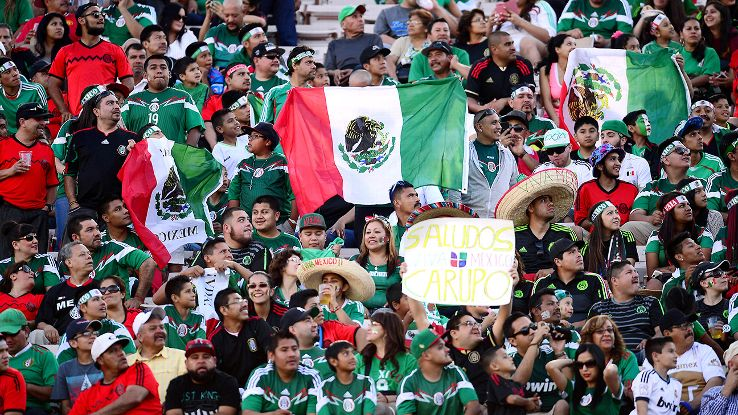 Mexico fans, like always, will pack stadiums across the U.S. to support their team in the Copa America Centenario.