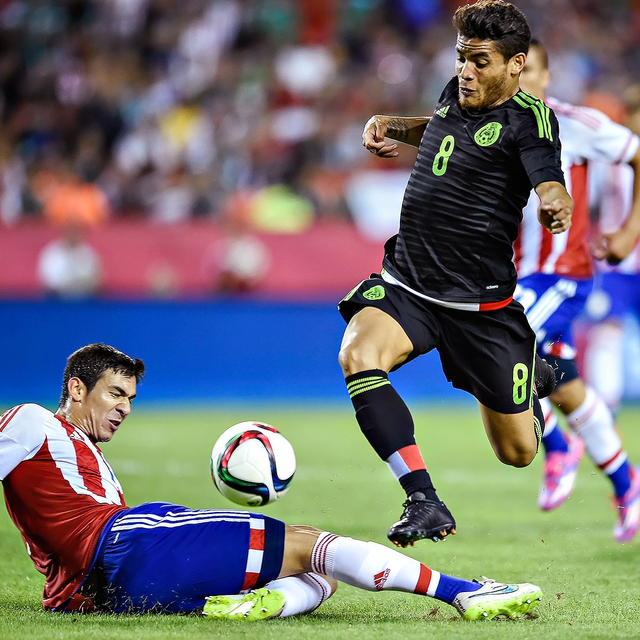 Jonathan dos Santos may have earned himself a spot on Mexico's Gold Cup team following his stellar performance versus Paraguay.