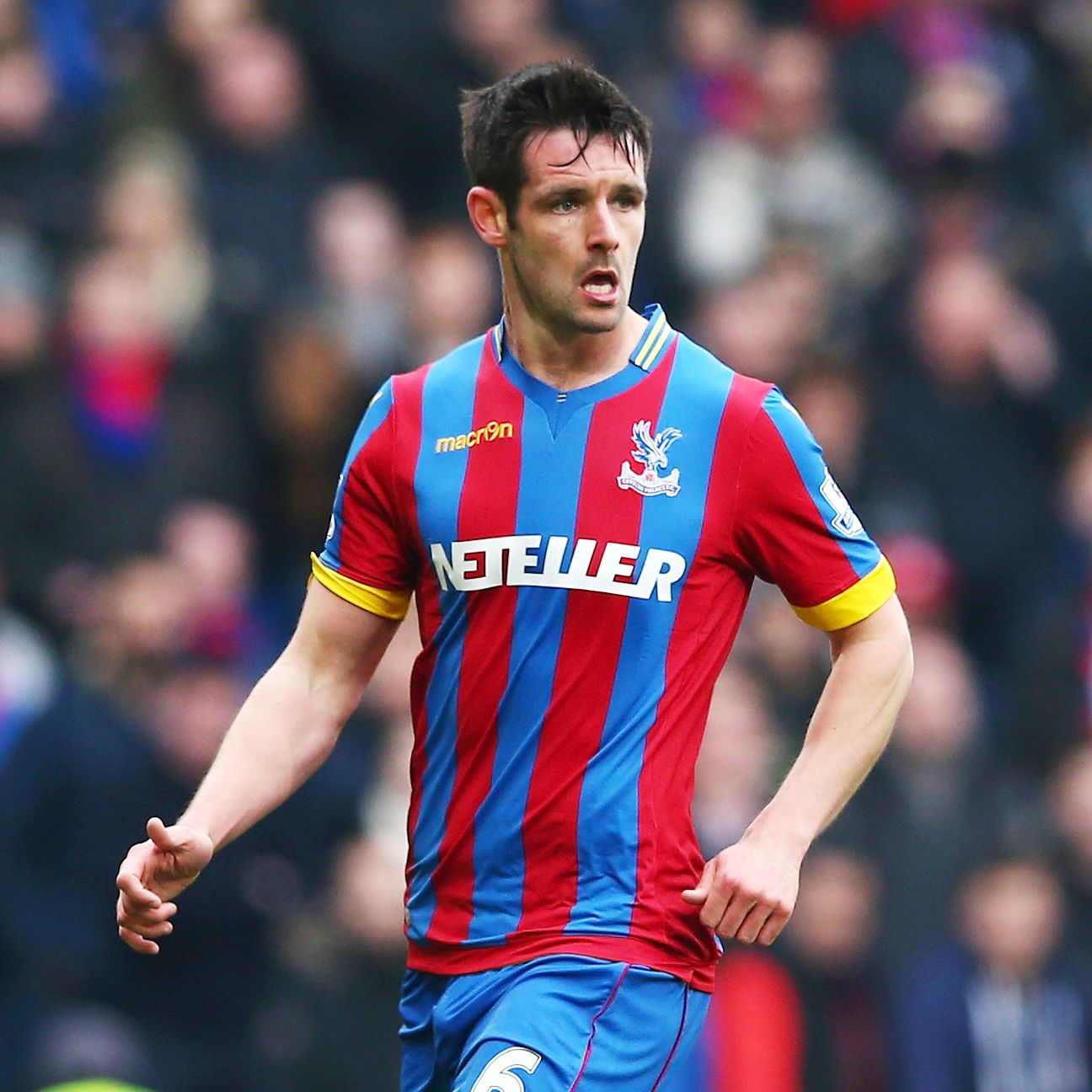 Crystal Palace defender Scott Dann once featured for England's under-21 squad, but has yet to receive a call-up to the senior team.