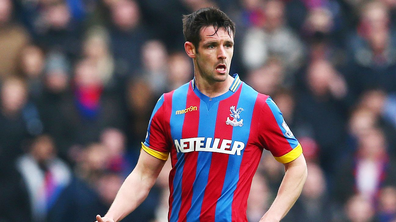 Scott Dann has made 29 appearances for Crystal Palace this season, including 26 Premier League starts.