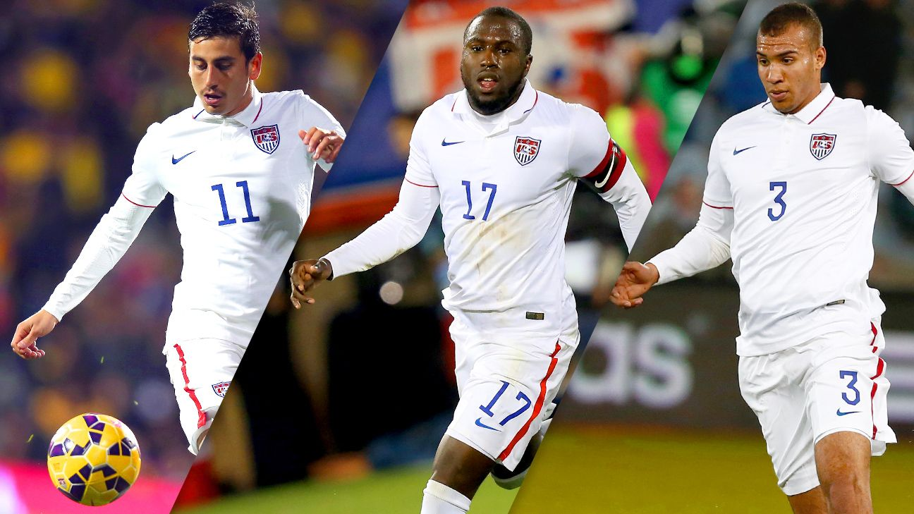 Alejandro Bedoya, Jozy Altidore and John Brooks are the clear top choices at their respective positions.