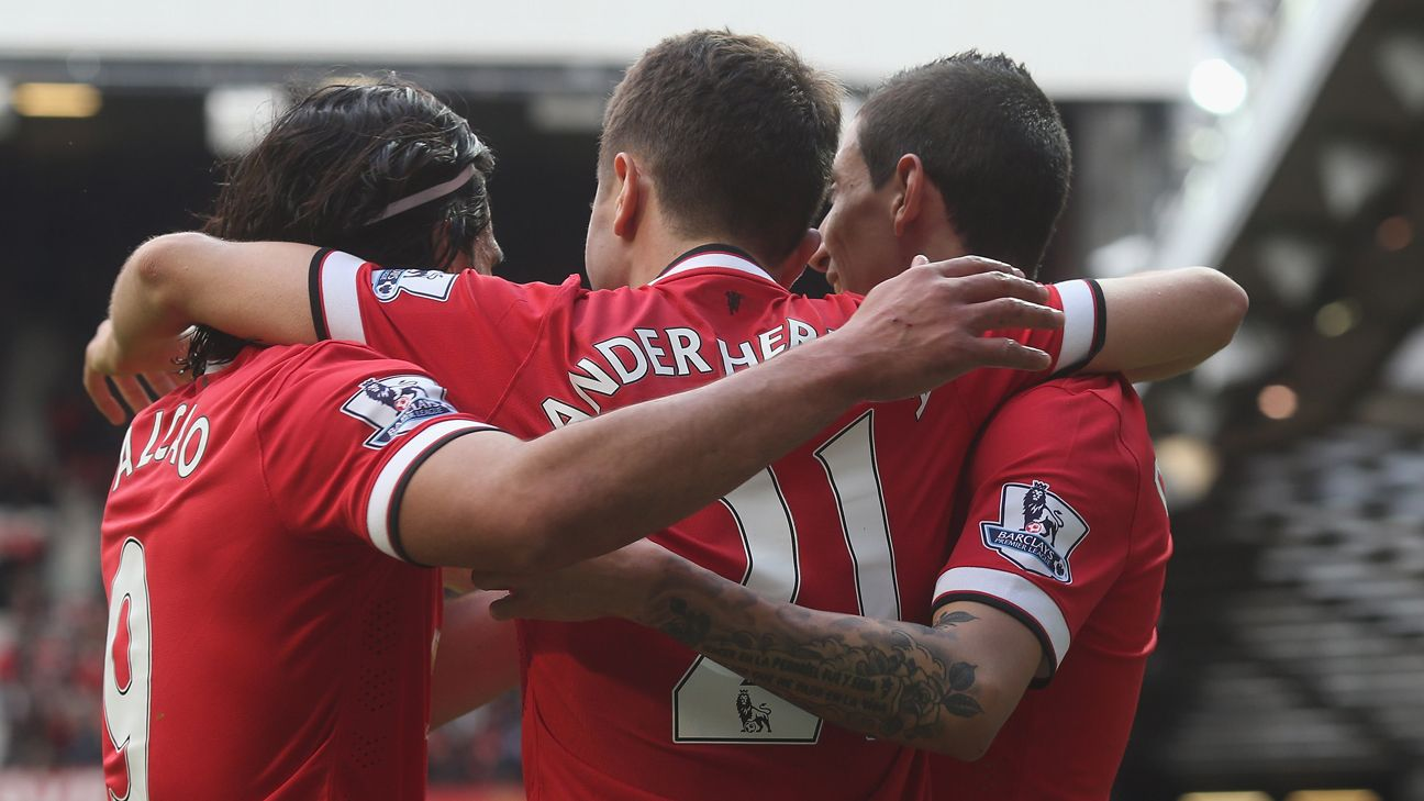 Ander Herrera a perfect 10 for United as the Van Gaal show rolls on