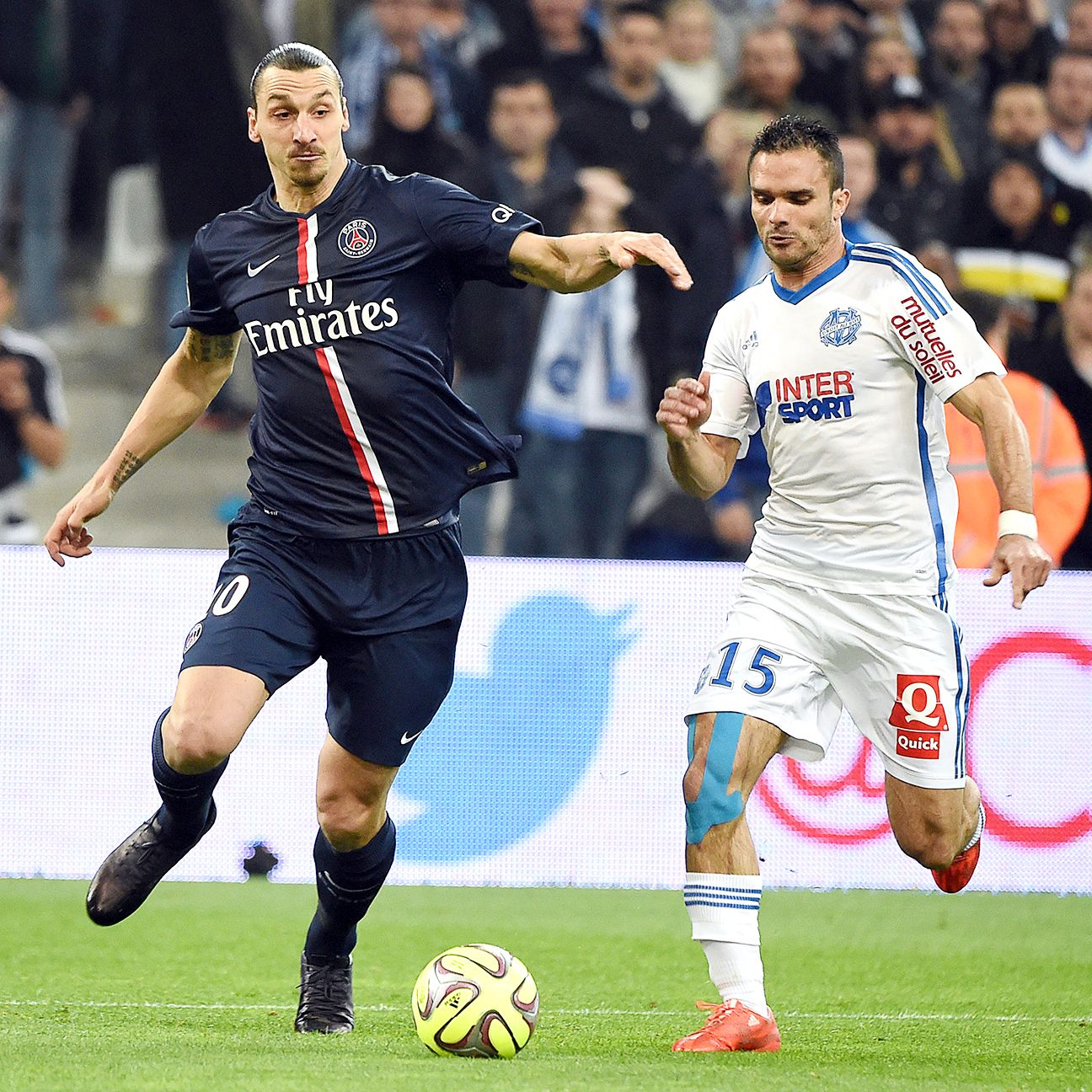Despite a wide disparity in the table, Zlatan Ibrahimovic and PSG will be wary of rivals Marseille on Sunday.