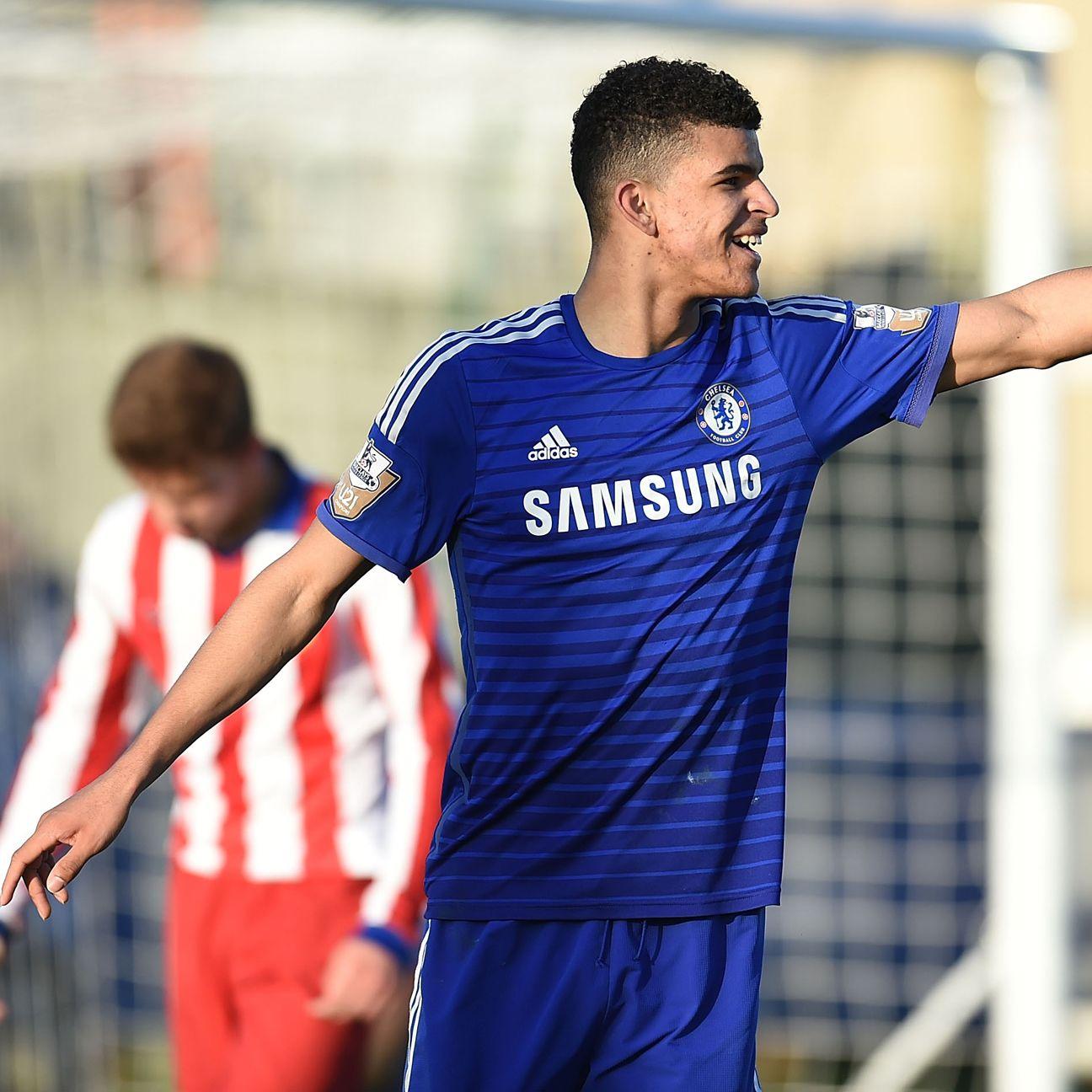 Chelsea academy star striker Dominic Solanke appears primed for a senior-team spot in the near future.