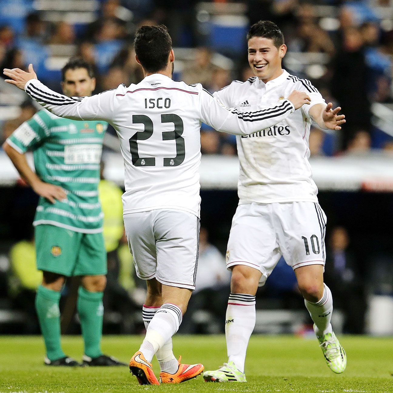 Both Isco and James will be looking to impress when Real face Rayo on Wednesday.